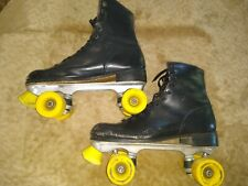Roller Derby skates - Black with yellow wheels - size 11