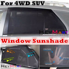 2 pcs Universal For SUV 4WD Car Window Shade Car Sun Shade Cover Sun Blocker