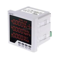 Digital 3 Phase Power Meter Electrical Parameter Voltage Current Frequency I4L9
