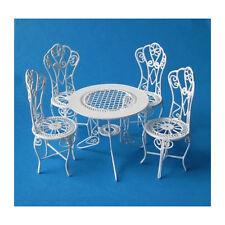 creal 330071 meubles de jardin (table + 4 Stühle) METAL 1:12