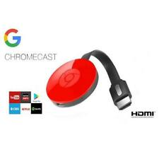 Google Chromecast 2nd Generation Media Streamer Coral Stream Cast Android iphone