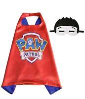 Ryder Paw Patrol Figure Dog Cape Mask Set Kids Boy Girl Costume Toy Gift