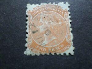 AUSTRALIE AUSTRALIA, timbre CLASSIQUE n° 6, oblitéré, VF used STAMP