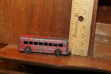 1950's -60's Vintage Diecast Bus Trolley Broken Loop