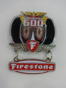 2014 Indianapolis 500 Firestone Tires Collector Sponsors Lapel / Hat Pin