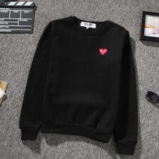 2019 Men's Comme Des Garcons CDG Play Hoodie red heart Sweater Play Women Coat