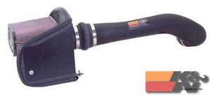 K&N Performance Air Intake System For FIPK HUMMER H2, V8-6.0L, 03-09 57-3037