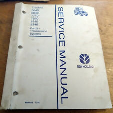 Ford New Holland 5640 6640 7740 7840 8340 Transmission Service Manual - Factory
