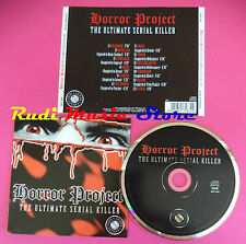 CD HORROR PROJECT THE ULTIMATE SERIAL KILLER Compilation no mc vhs dvd(C36)