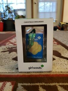 Kurt S. Adler Girl Scouts Christmas Ornament Trefoils Shortbread