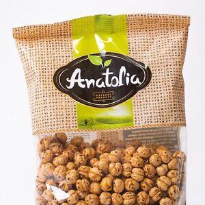200g Anatolia gelbe Kichererbsen geröstet roasted chickpeas 100% Natur
