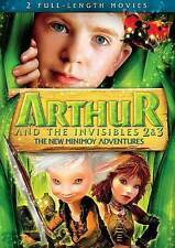 Arthur and the Invisibles 2 & 3: The New Minimoy Adventures (DVD, 2012) 2-DISC S