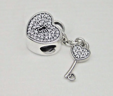 Pandora Silver Lock of Love with Clear Cz Charm - 791429cz