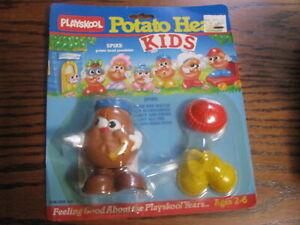 1986 Playskool Potato Head Kids  Spike   Lot# Flat J