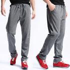 New Men's Casual Cotton Sport Sweat Pants Dance Baggy Jogging Trousers Slacks
