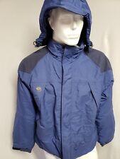 Mountain Hardwear Conduit Ski Jacket Hooded Winter Shell Men's Size Large Blue
