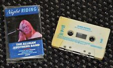 Cassette Audio The Allman Brothers Band - Night Riding - K7