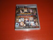 Dead or Alive 5: Ultimate (Sony PlayStation 3, 2013 PS3) -Complete