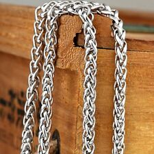 "24"" Charm Link Fashion Jewelry Men's/Women's Necklace Stainless Steel Rope Chain"
