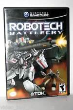 ROBOTECH BATTLECRY GIOCO USATO OTTIMO STATO GAMECUBE ED. AMERICANA FR1 32892