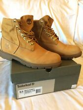 Timberland Basic Roll Top Wheat Boots Mens Size 9.5