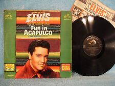 Elvis Presley, Fun In Acapulco, RCA Victor LPM 2756, 1963, Soundtrack, Rock