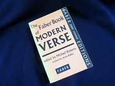 THE FABER BOOK OF MODERN VERSE~MICHAEL ROBERTS~ANNE RIDLER~1951