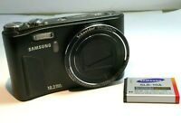 Samsung HZ10W 10MP Digital Camera - Black  - untested AS IS - Parts