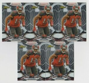 (5) Mike Evans 2015 TOPPS FINEST BASE CARD LOT #10 TAMPA BAY BUCCANEERS