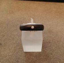 *REDUCED* Mens or Ladies Black Zirconium Genuine Diamond Set Ring - Size M.5