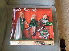 2000 SINGING HOLIDAY SISTERS; BARBIE, STACIE, KELLY NRFB/NS