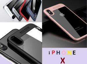 Handyhülle Apple iPhone X XS Ultra Slim Case Schutz Cover Bumper Schutzhüllen