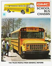 1973 GMC School Bus Chassis 8-Page Dealer Sales Brochure