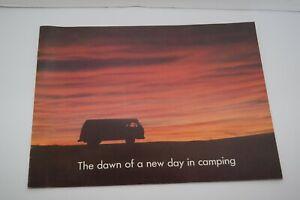 Vintage 1968 Volkswagen Campmobile Dealer Brochure  b
