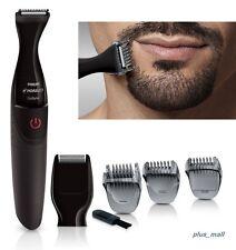 Electric Trimmer Clipper Beard Mustache Cut Edge Facial Hair Men Shaver Grooming