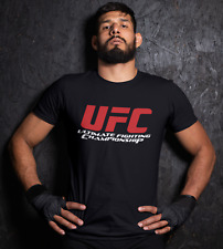 Luchadores de UFC Camiseta Artes Marciales MMA Gimnasio McGregor Khabib Músculo Entrenamiento Hombres Top