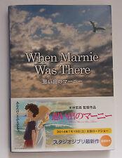 When Marnie Was There Joan G. Robinson English Book Studio Ghibli New