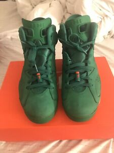 Air Jordan 6 Gatorade NRG Sz 10.5 Nike Retro