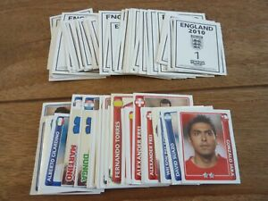 Topps England 2010 World Cup Football Stickers - VGC! Pick Your Stickers!