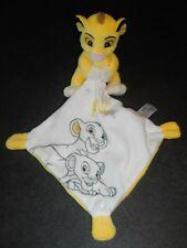 Doudou Simba Le Roi Lion Mouchoir Blanc My Little King Disney Nicotoy Etat Neuf