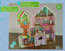 More details for kidkraft treehouse retreat mansion wooden dollhouse dolls house girls play doll
