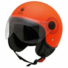 Rodéo Drive Casque Polo moto scooter D/Jet Rd105 Orange Fluo taille S *NEUF*