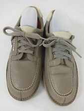 LEVIS MENS GRAY LEATHER LACE UP OXFORDS SHOES SIZE US 10 - Gray