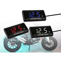 Compteur De Tension De Voltmètre D'affichage à LED Numérique De Moto De