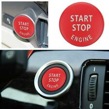 Start Stop Engine Button Switch Cover for BMW E60 E70 E90 3 Series (Gloss Red)