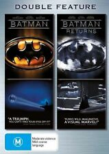 Batman / Batman Returns (DVD, 2006, 2-Disc Set) VGC Pre-owned (D106)