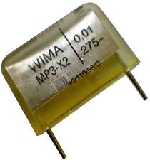 Lot of 2 Wima Metallized Paper 0.01uF 275V MP3-X2 MP 3-X2