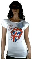 ELEGANTLY WAISTED by AMPLIFIED ROLLING STONES Strass Special Edition T-Shirt L