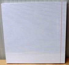 Lavagna present time white board con pennarello cm 50x50x2,5