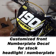 headlight decal fits suzuki drz400 drz400sm motorcycles
